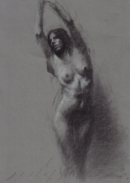 bound female nude