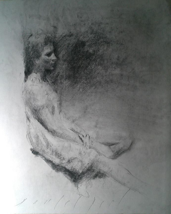 endless longing drawing