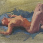 naked girl surrendering