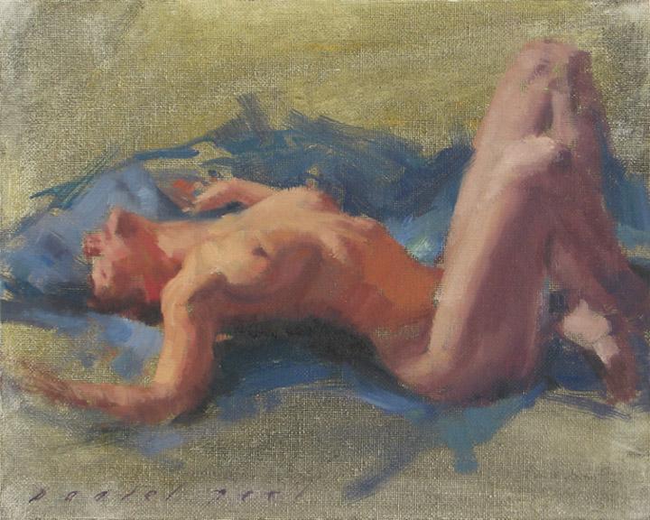 naked girl surrendering