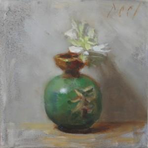 zen flower painting