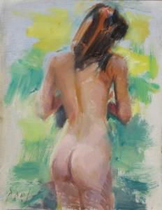 summer female nude